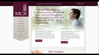 Management Compensation Resources Website Redesign image