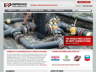PlanetMagpie wins 2012 WebAward for Improved Piping Products