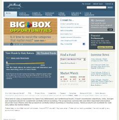 John Hancock Funds Public Website image