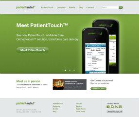 PatientSafe Solutions Website Redesign image