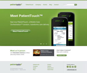 PatientSafe Solutions Website Redesign image