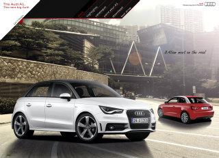 Audi A1 Website image