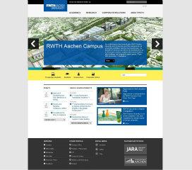 RWTH Aachen Website Relaunch image