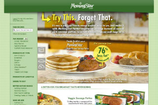 Morningstar Farms - Try This, Forget That image