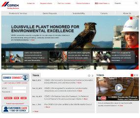 CEMEX  Website Redesign image