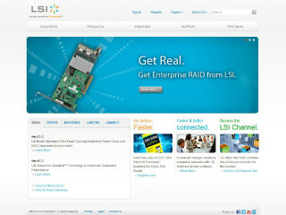 LSI Website Redesign image