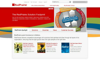RedPrairie Website Redesign image