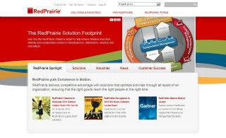 RedPrairie Website Redesign image
