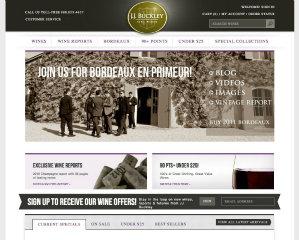 J.J. Buckley Website Redesign image
