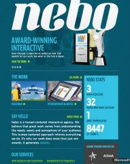Nebo Website Redesign image