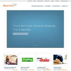 Baynote Website Redesign image