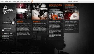 Gretsch Drums Website image
