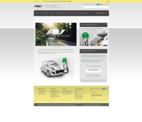 AV - EV Solutions Website image