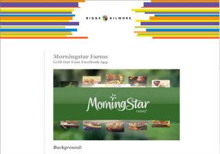Morningstar Farms - Grill Our Fans Facebook App image