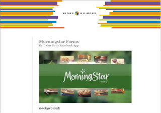 Morningstar Farms - Grill Our Fans Facebook App image