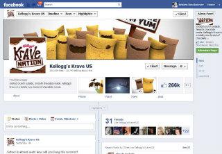 Krave - Facebook Brand Page image