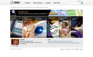 JDSU Website Redesign image