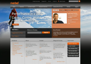 Riverbed Website Redesign image