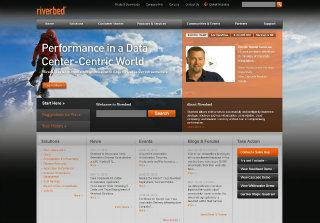 Riverbed Website Redesign image