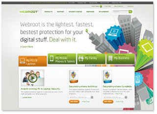 Webroot Website Redesign image