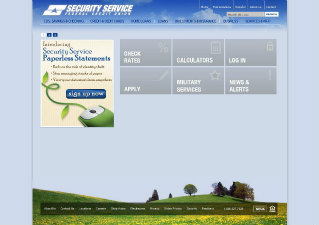 SSFCU Website Redesign image