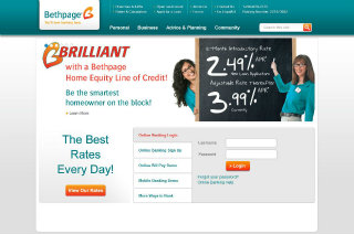Bethpage Credit Union Website Redesign image