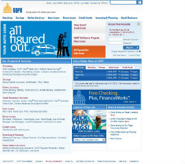 Safe Credit Union Website Redesign image