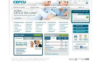 CEFCU Website Redesign image