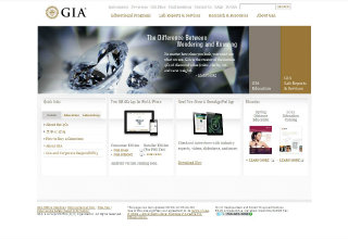GIA Website Redesign image