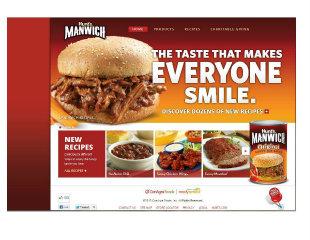 Manwich Site Design image