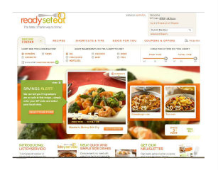 ReadySetEat.com Site Design and Development image