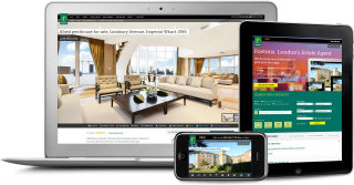 Foxtons.co.uk - Responsive Real Estate Website image