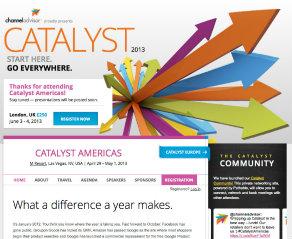 ChannelAdvisor Catalyst 2013 Event Site image