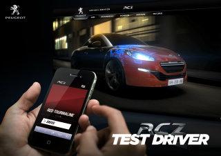 Peugeot RCZ Test Driver image