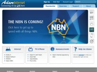 Adam Internet Website | www.adam.com.au image