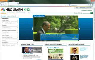 NBC Learn K-12 image