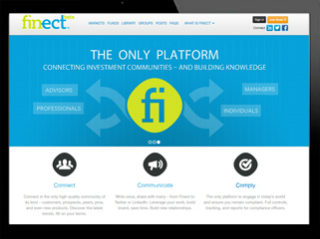 Finect.com:The Social Network for the Investment Community image