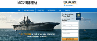 Mesothelioma from the Navy Website image