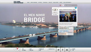 Yapı Merkezi Inc. Corporate Website image