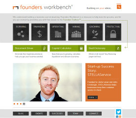 Founders Workbench Website Redesign image