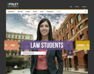 Foley Careers Website Redesign image