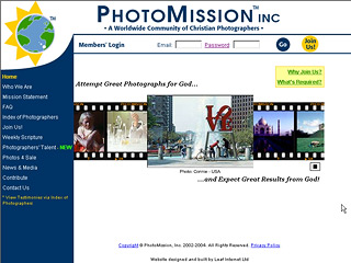 A Worldwide Community of Christian Photographers image