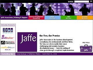 Jaffe Web Site image