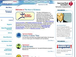 Heart of Diabetes -- American Heart Association image