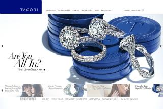 Tacori Website image