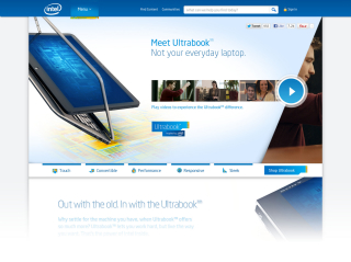 Intel Ultrabook - Sponsor of Tomorrow image