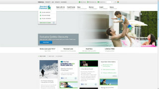The New Standard Chartered Bank India Website image