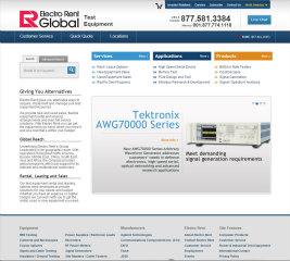 Electrorent.com Redesign image