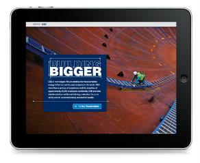 CB&I 2012 Annual Report image