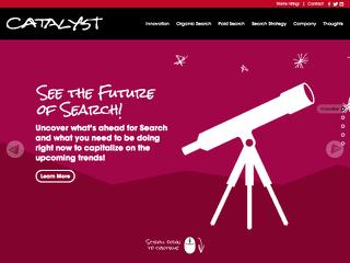 Catalyst Website image